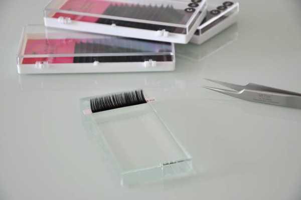 Wimpernplatte LASH Crystal Platform für Wimpernstreifen