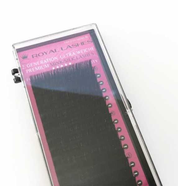 Nerz-/Seidenwimpern Premium Ultra Weich 0.14mm